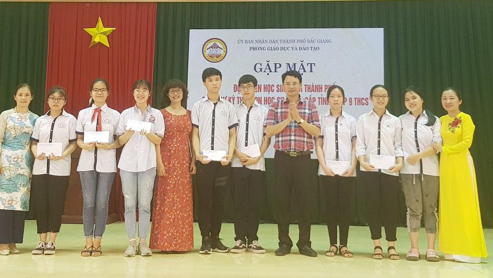 học sinh giỏi, quốc gia, bắc giang, THPT Chuyên Bắc Giang, học sinh giỏi quốc gia, năm học 2019-2020, giáo dục