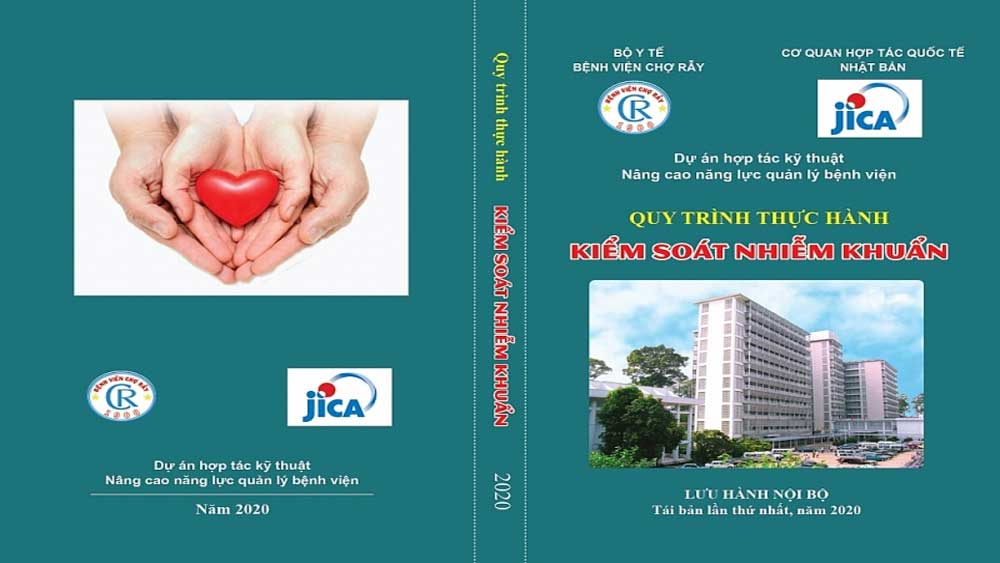 JICA, các gói viện trợ, các bệnh viện Việt Nam, Cơ quan Hợp tác Quốc tế Nhật Bản,  2.000 cuốn Sổ tay, kiểm soát nhiễm khuẩn