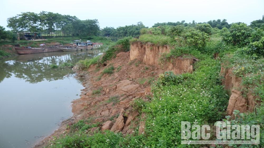 Khai thác cát sỏi, Bắc Giang, Cửa Sông