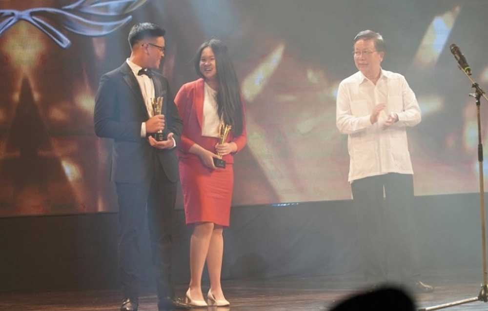 Winners, Vietnam Golf Awards 2019, Tran Le Duy Nhat, Vu Thi Van, Professional Golfer of the Year, national scale,