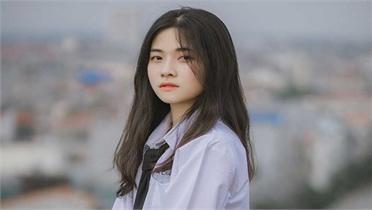 Vẻ đẹp đượm nét thơ ngây của nữ sinh Bắc Giang trong bộ đồng phục