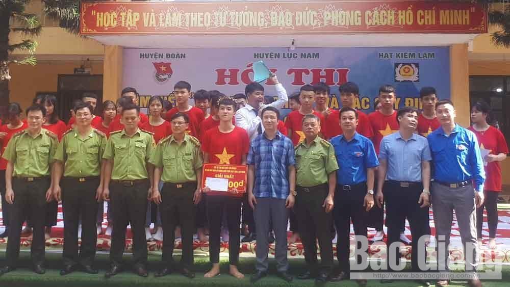 Bắc Giang: Thi tìm hiểu Luật Lâm nghiệp và các quy định về phòng cháy, chữa cháy rừng