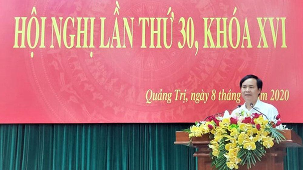 Bí thư Thành ủy Đông Hà Võ Văn Hưng được bầu làm Phó Bí thư Tỉnh ủy Quảng Trị