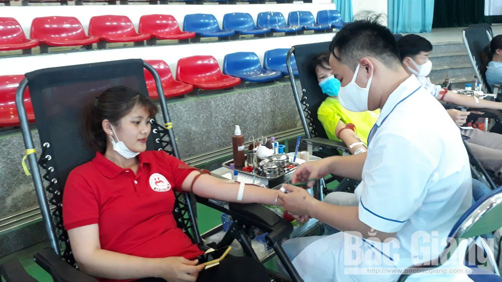 Bac Giang province, outstanding blood donors, Certificate of Merit,  outstanding achievements, blood donation,  voluntary blood donation movement