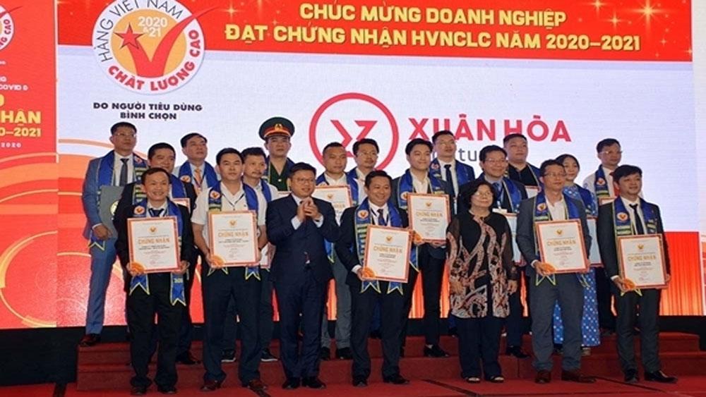 604 enterprises, High-Quality Vietnamese Goods, various areas, Business Association, consumer survey