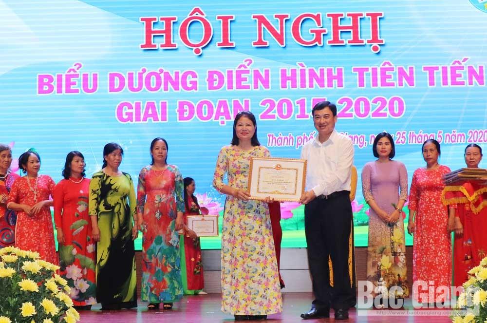 Phụ nữ TP Bắc Giang, Sôi nổi, thi đua, nhân rộng, điển hình