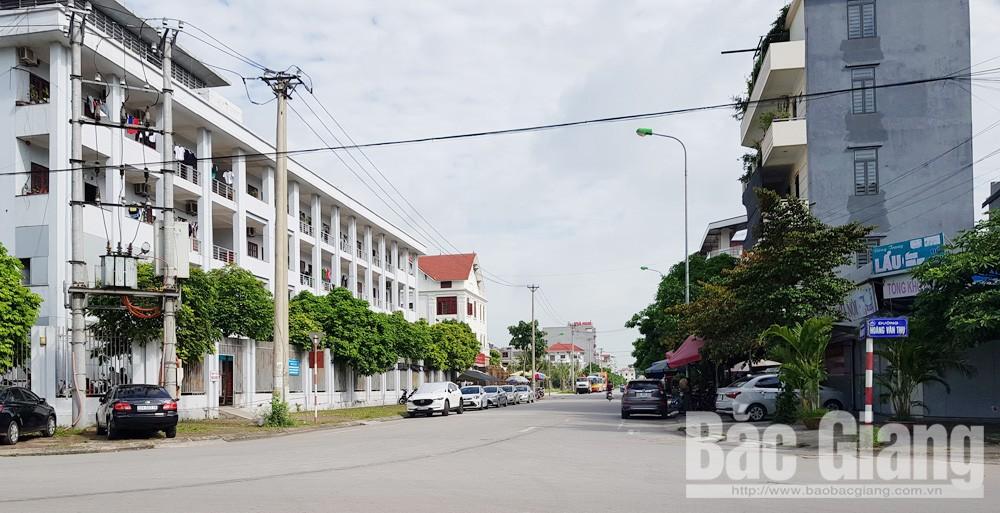 ô tô đỗ dưới lòng đường, TP Bắc Giang, Bắc Giang