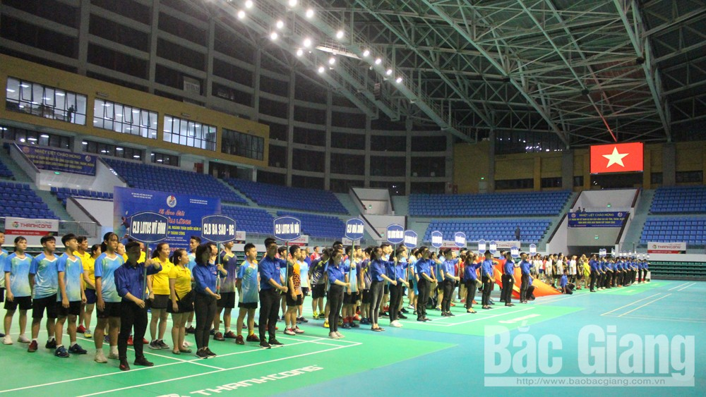 27 clubs, National Badminton Tourney 2020, Bac Giang province, Vietnam Sports Administration, Thanh Cong Cup, top 3 clubs