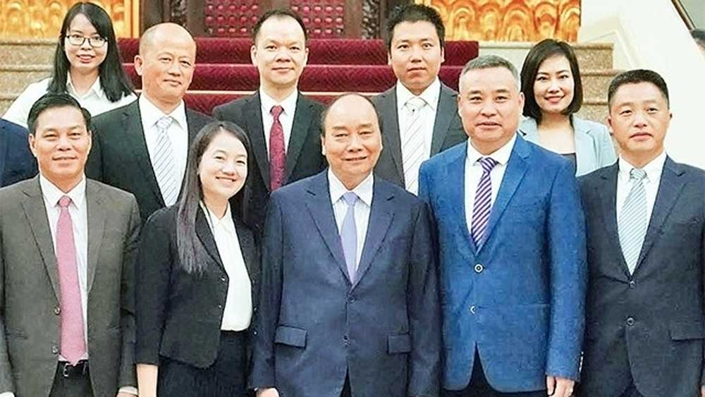 PM receives leaders of Chinese firms operating in Vietnam