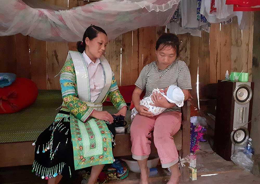 Gian nan, cô đỡ, thôn bản, tỉnh Cao Bằng, Bệnh viện đa khoa tỉnh, Chu Thị Vân