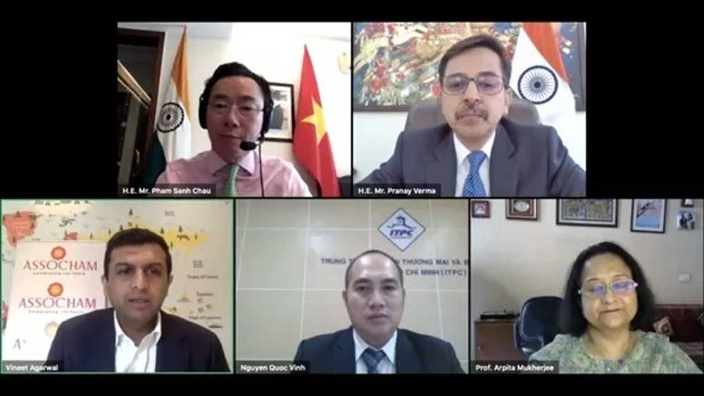 EVFTA, good opportunity, Indian investors, Vietnam, EU-Vietnam Free Trade Agreement, online conference, garment-textile industry, Covid-19 pandemic