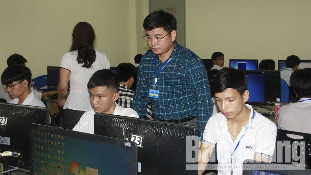 117 thí sinh tham gia hội thi Tin học trẻ tỉnh Bắc Giang lần thứ XXIII