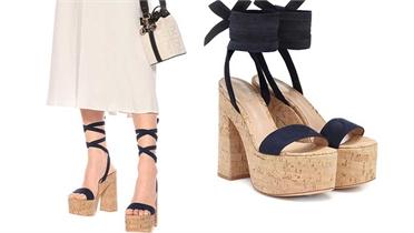 Những đôi sandals đế thô giúp 'ăn gian' chiều cao
