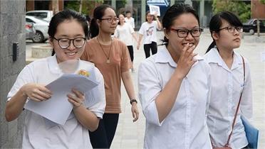 Thí sinh bắt đầu đăng ký dự thi tốt nghiệp THPT