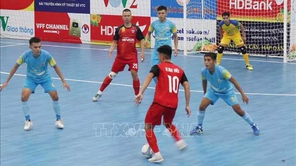 National Futsal Championship 2020, Khanh Hoa province, Covid-19 pandemic, round robin tournament, overall champions, most valuable player