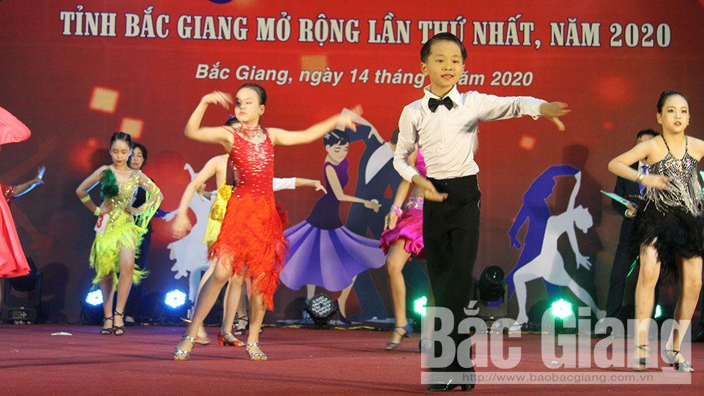 Bắc Giang: Lần đầu tiên tổ chức giải khiêu vũ thể thao dành cho thiếu nhi