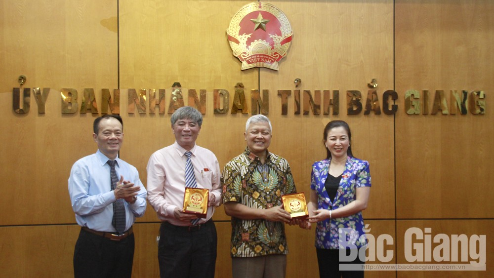 Vietnam-Indonesia Friendship Parliamentary Group visits Bac Giang province