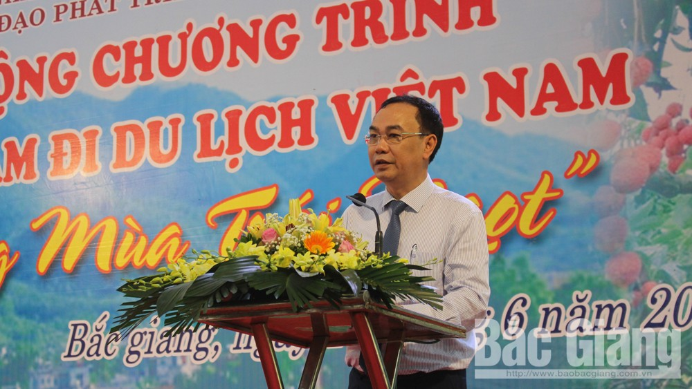 Bac Giang province, sweet fruit season, tourism programme, stimulates domestic travel, Vietnamese people travel Vietnam, tourism destination
