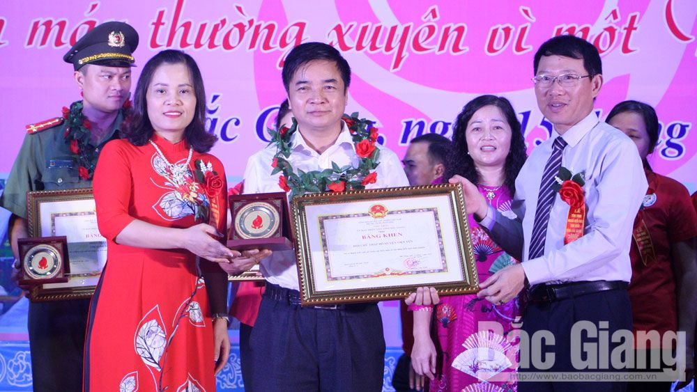 Bac Giang province, exemplary women, outstanding blood donors, Women Union, exemplary models, patriotic emulation, voluntary blood donation, creative startup ideas, outstanding donors