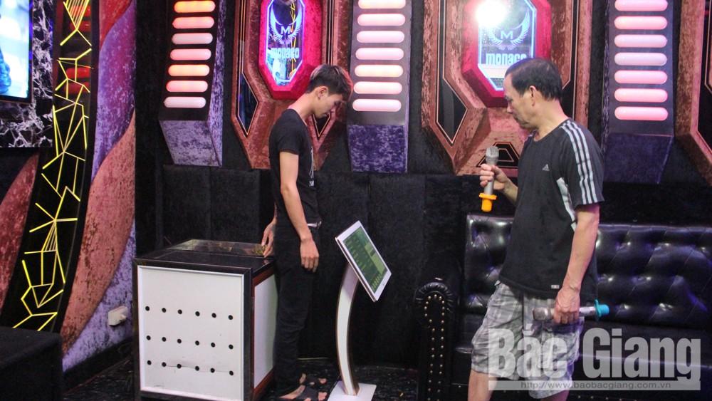Thành phố Bắc Giang, karaoke, hoạt động trở lại