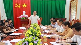 Lạng Giang cần tập trung đầu tư cơ sở hạ tầng giao thông trọng điểm