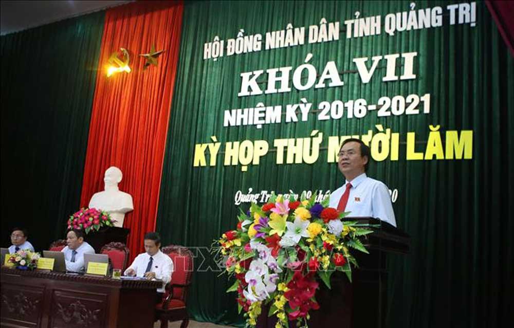 Thủ tướng, bổ nhiệm, Võ Văn Hưng, Chủ tịch tỉnh Quảng Trị
