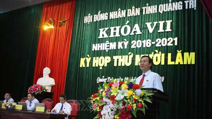 Thủ tướng bổ nhiệm ông Võ Văn Hưng làm Chủ tịch UBND tỉnh Quảng Trị