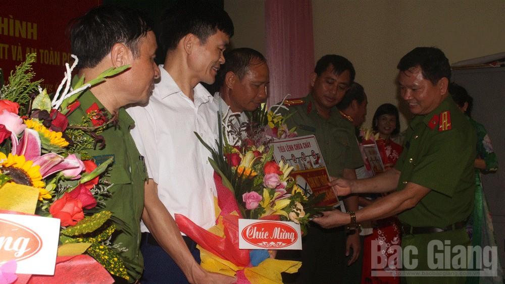 Thành lập mô hình chợ an toàn về phòng cháy, chữa cháy đầu tiên tại Bắc Giang