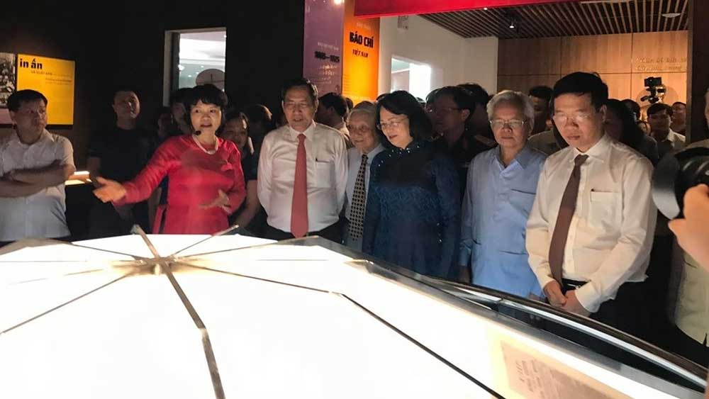 Vietnam Press Museum, opens to public, Journalists' Association,  launching ceremony, Vietnamese press, national liberation and construction