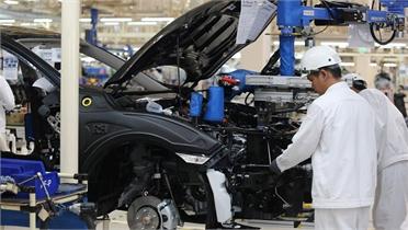 Thái Lan giảm mạnh xuất khẩu ôtô