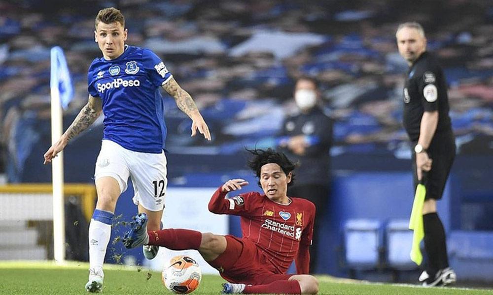Liverpool Rơi điểm ở Everton đăng Tren Bao Bắc Giang