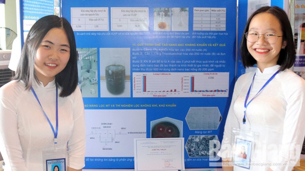 Bac Giang bags 2 prizes at National Science and Technology Contest