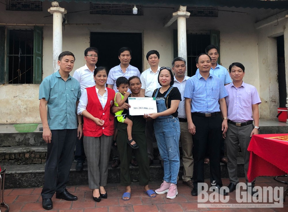 Báo Dân Trí, cháu Nguyễn Gia Bình, Bắc Giang