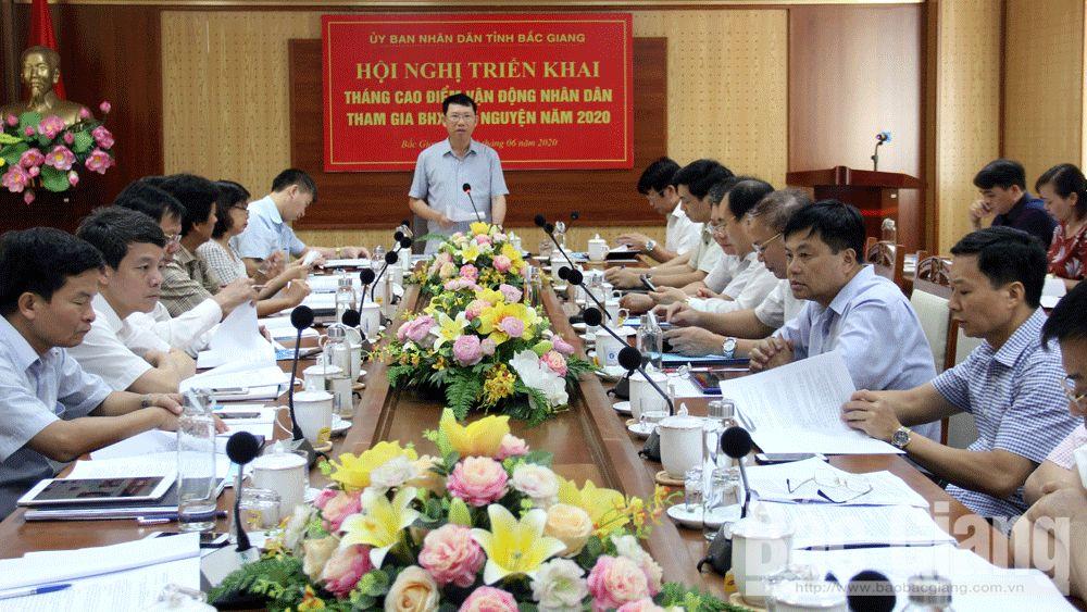 Bắc Giang phấn đấu năm 2020 có 20,7 nghìn người tham gia BHXH tự nguyện
