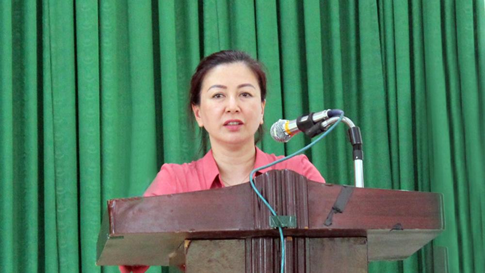 Đoàn đại biểu Quốc hội tỉnh tiếp xúc cử tri huyện Yên Thế