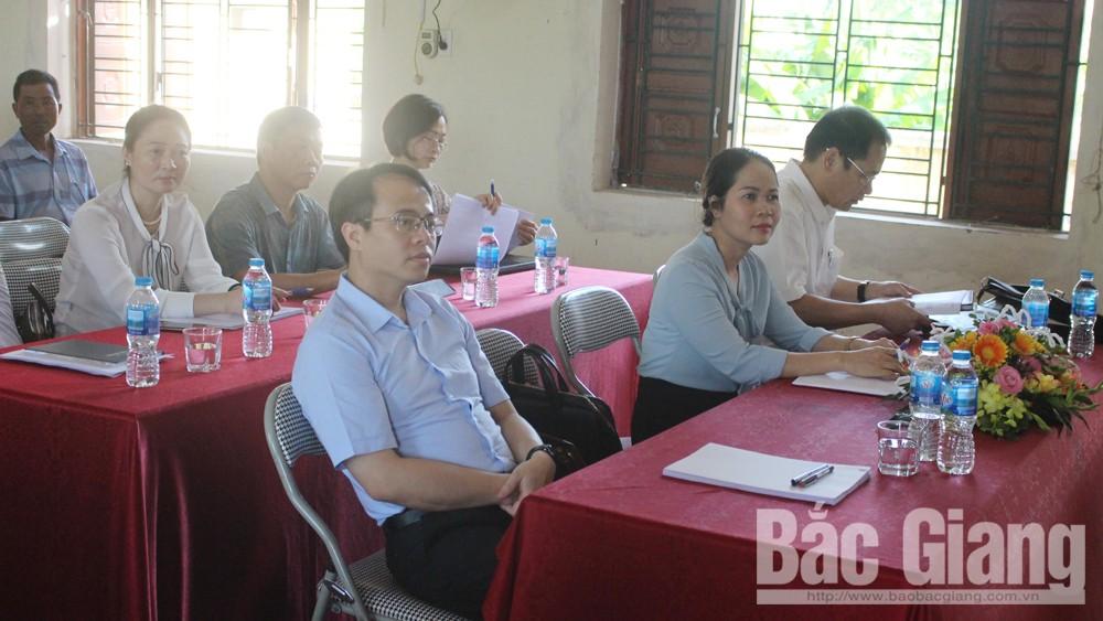 ĐBQH tỉnh tiếp xúc cử tri Việt Yên, Bắc Giang