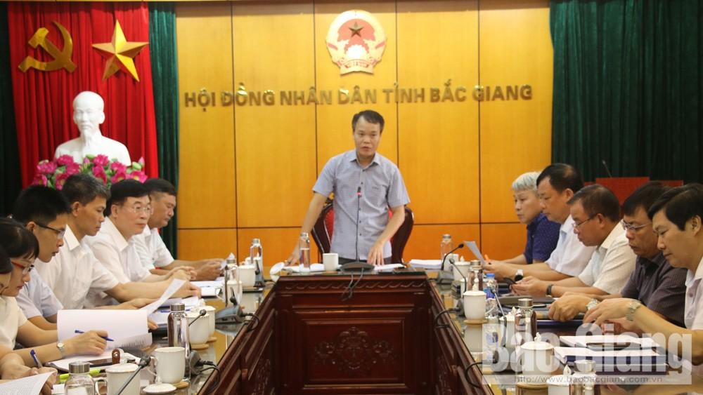 Ban Pháp chế, HĐND tỉnh: Thẩm tra một số dự thảo báo cáo, nghị quyết trình kỳ họp thứ 10, HĐND tỉnh