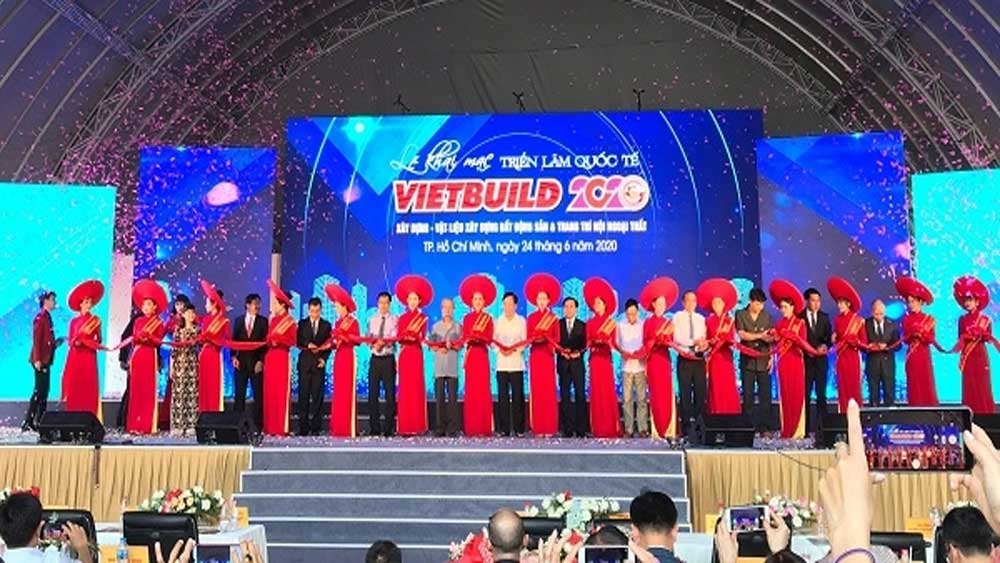 Vietbuild International Exhibition 2020, 400 businesses, five-day event, construction & building materials, real estate, exterior-interior decoration
