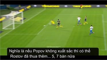 Thủ môn xuất sắc nhất trận dù thủng lưới 10 bàn