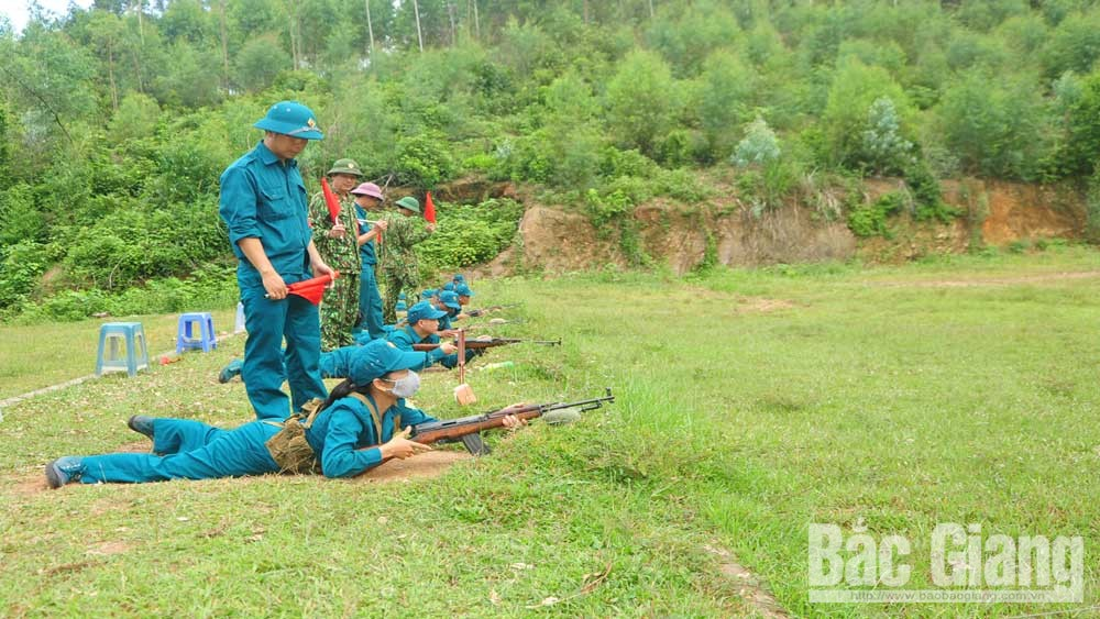 Bộ CHQS tỉnh Bắc Giang, Xây dựng, nguồn cán bộ quân sự cơ sở ,vững mạnh