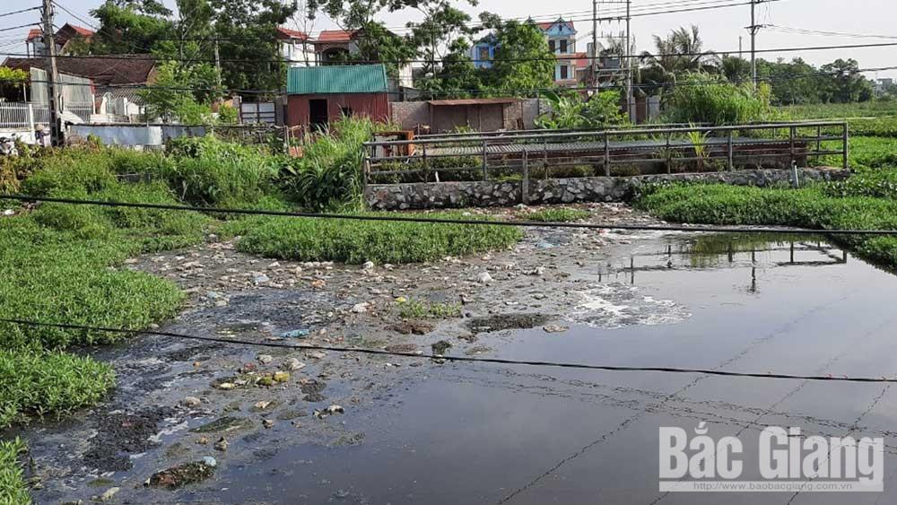Dự án xử lý nước thải tại thị trấn Nếnh (Việt Yên): Khắc phục bất cập  để phát huy hiệu quả