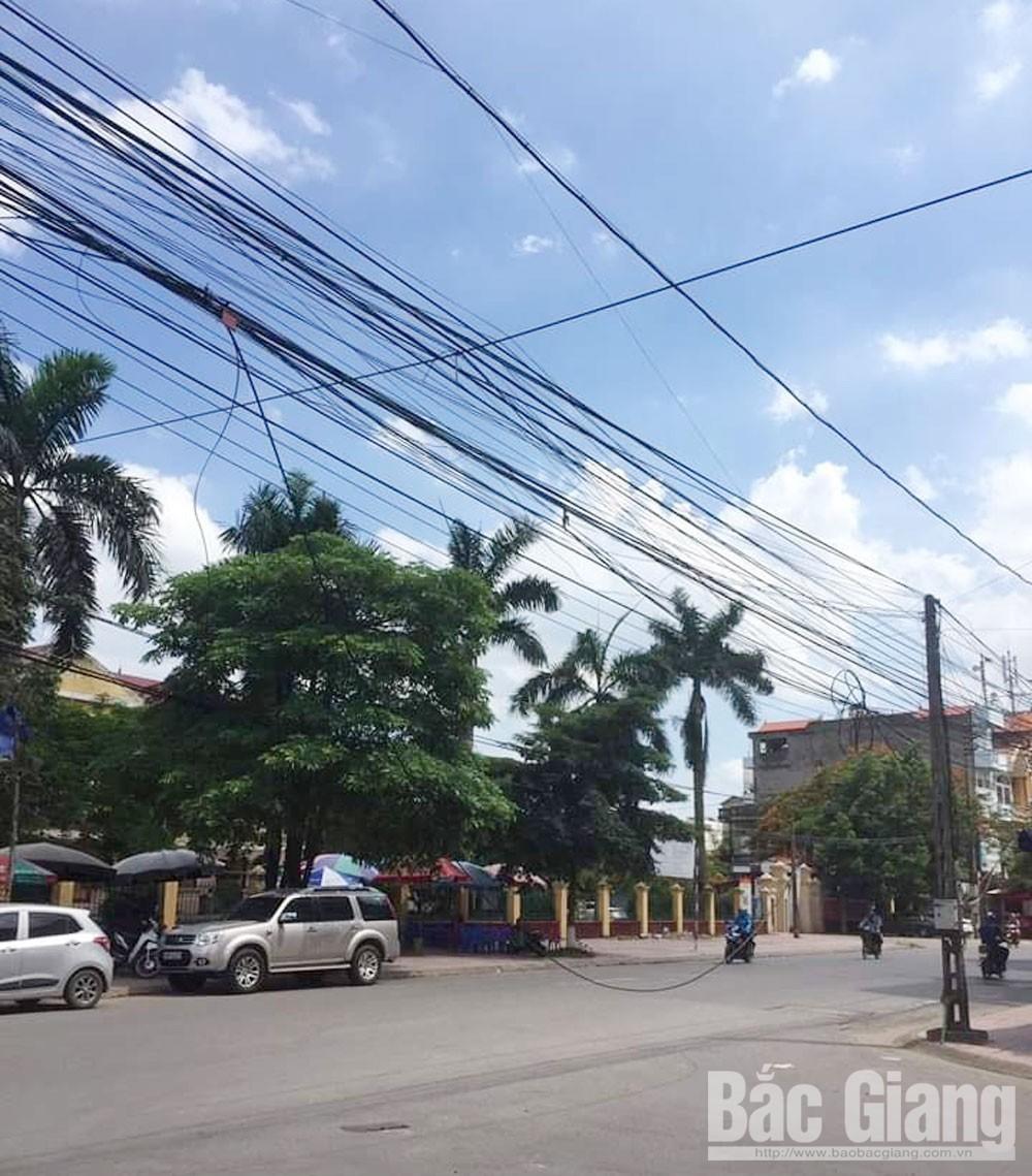 Nâng cấp đường điện, phòng ngừa tai nạn, TP Bắc Giang, cột điện gẫy, đổ, Bắc Giang