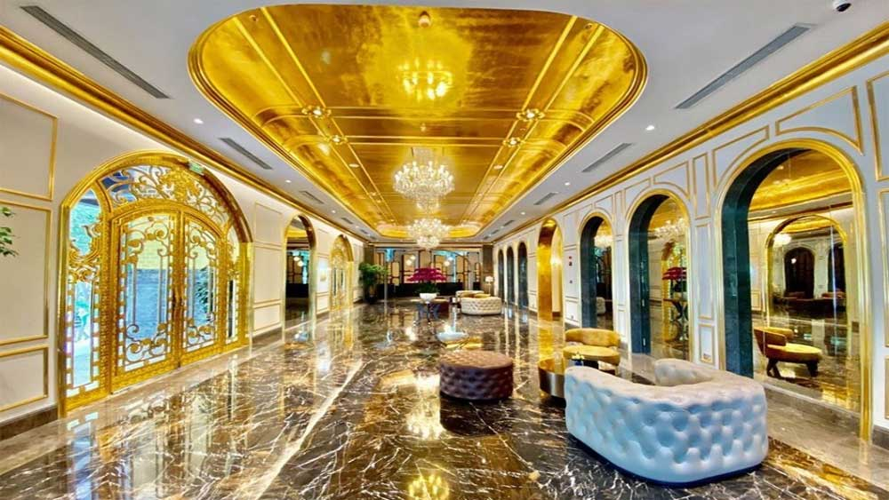 World's first 'gold-plated' hotel to open in Hanoi