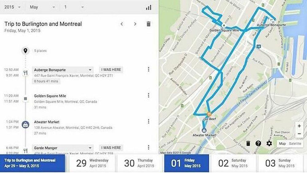 Google, theo dõi người dùng, My Activity, tự động xoá