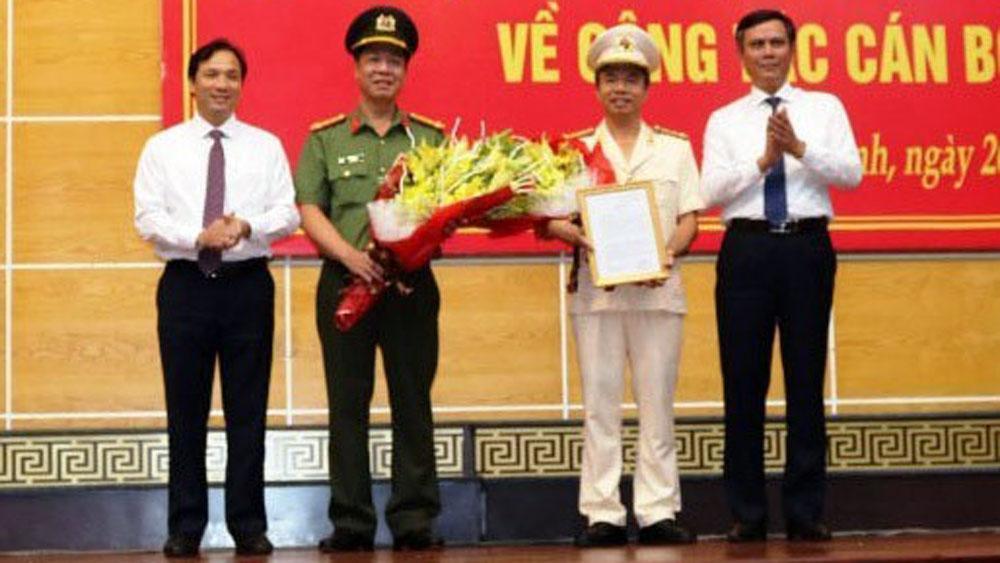 Quảng Bình,công tác cán bộ,đại tá Nguyễn Tiến Nam,Giám đốc Công an tỉnh Quảng Bình,điều động,bổ nhiệm