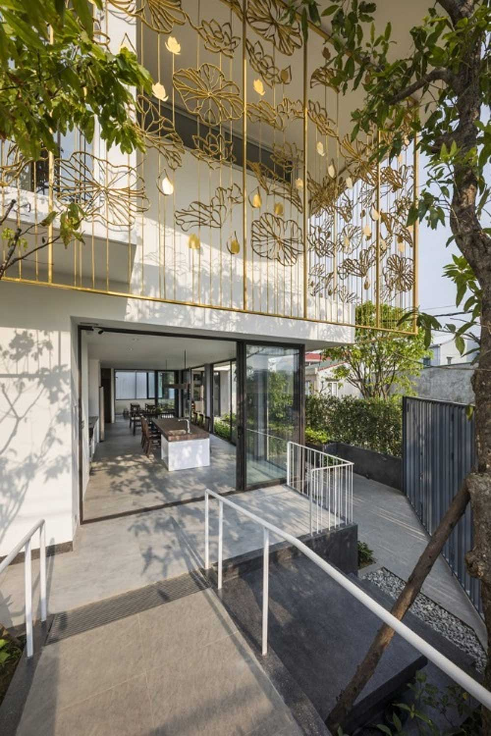Hue house,  disabled access, the good life, ease of access, 257-meter-square house,  ramp system, ventilation and air convection