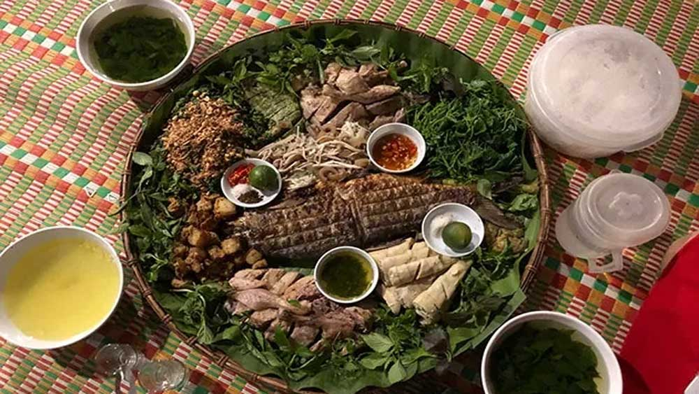 Độc đáo món ăn vùng cao Lâm Bình