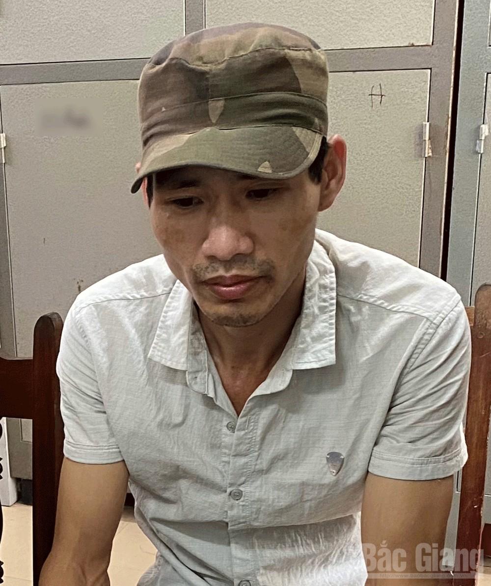 Công an Bắc Giang, Công an Tân Yên, Bắt đối tượng tàng trữ ma túy, ma túy