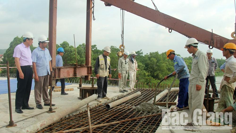 hợp long, cầu Bến Hướng, Bắc Giang, xây dựng cầu