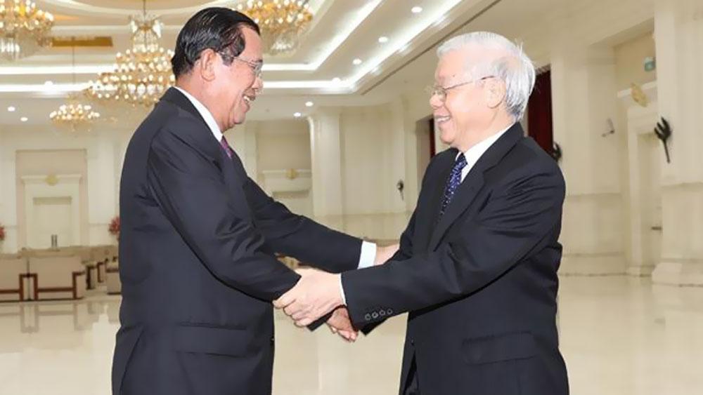 Điện mừng,Đảng Nhân dân Campuchia,Covid-19,ASEAN
